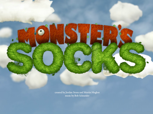 Monster's Socks app for Android screenshot