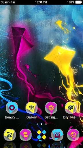 免費下載個人化APP|'彩色風箏'手機主題——暢遊桌面 app開箱文|APP開箱王