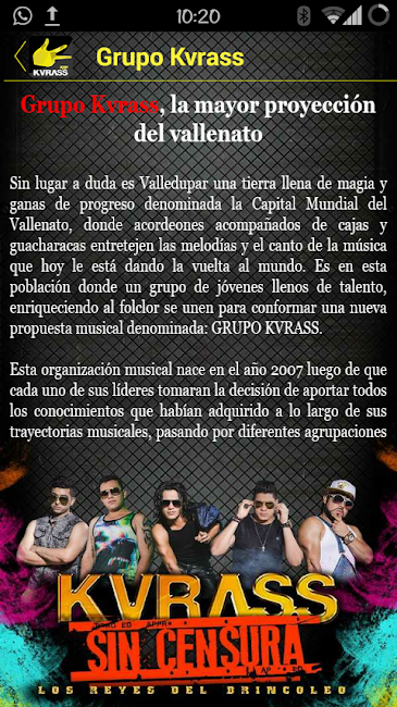#10. Grupo Kvrass (Android)