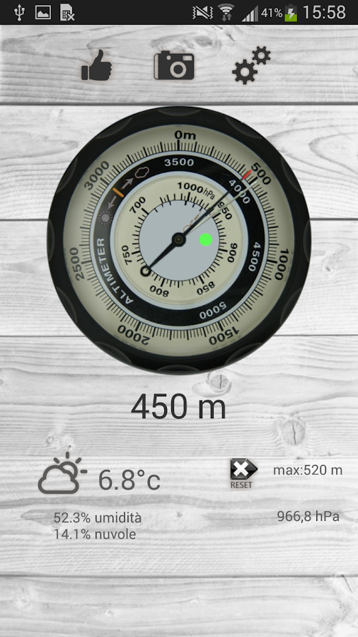 Altimeter free- screenshot