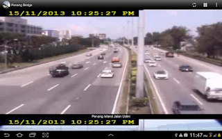 Screenshot of Penang Bridge Traffic Cam