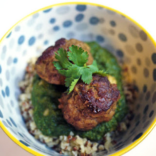 Indian Spiced Meatballs.