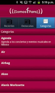 Somos Fans app - screenshot thumbnail