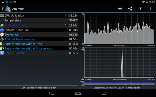 Process Monitor Widget screenshot 12