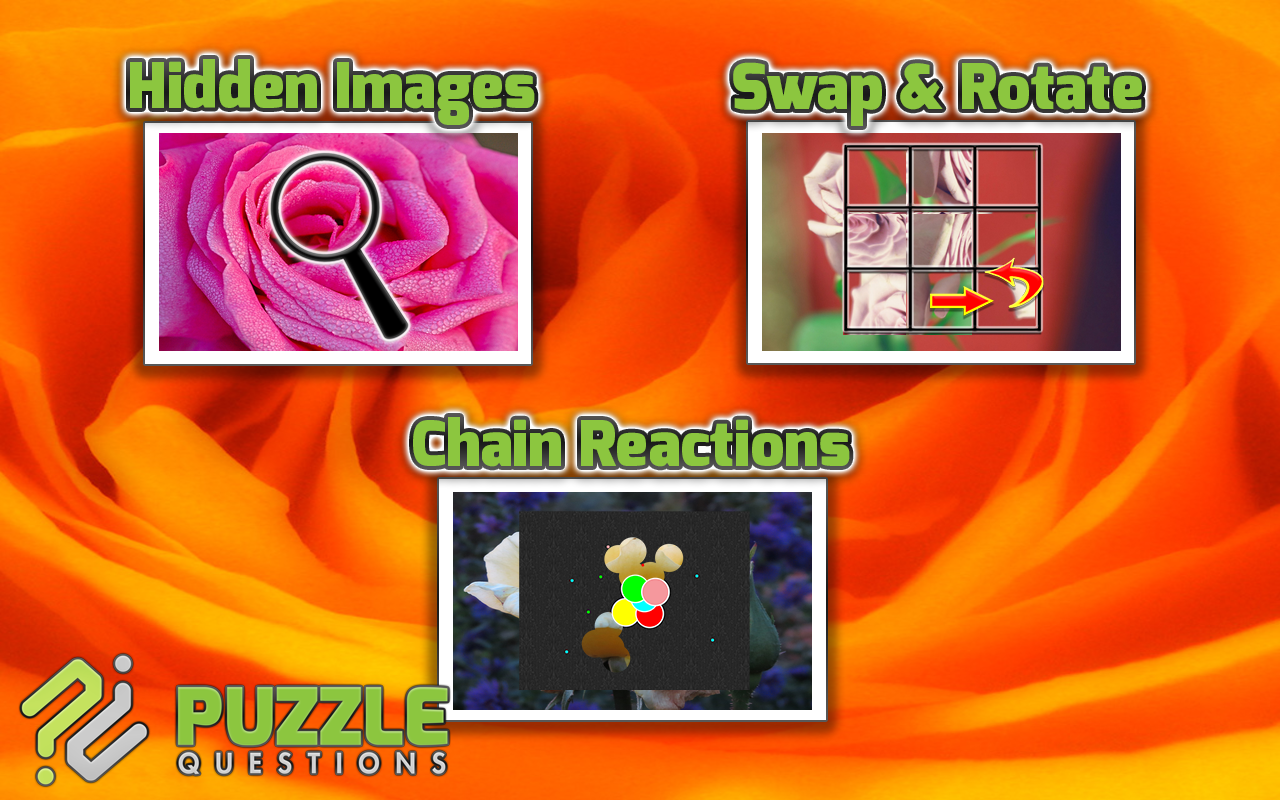 Even More Rose Garden Puzzles- screenshot
