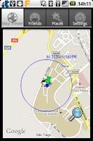 Screenshot of Wireless Sensor Location