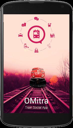 OMitra - Train Social App