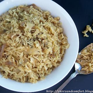 French Onion Savory Rice