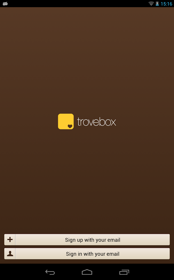 Trovebox - screenshot