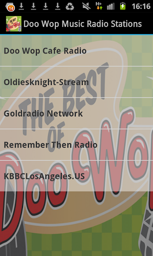 Doo Wop Music Radio Stations