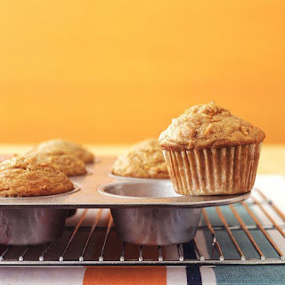 Spiced Carrot Muffins.