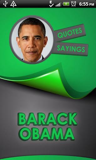 Barack Obama Quotes Says