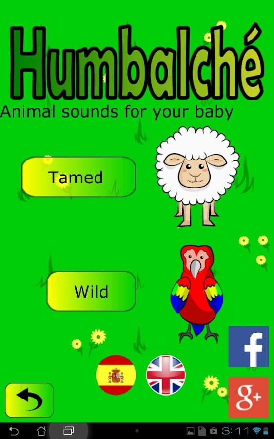 Humbalché: Animal sounds- screenshot