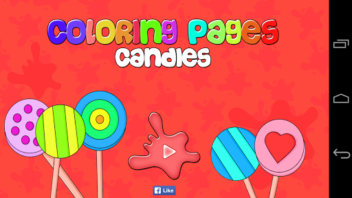Coloring Pages Candies