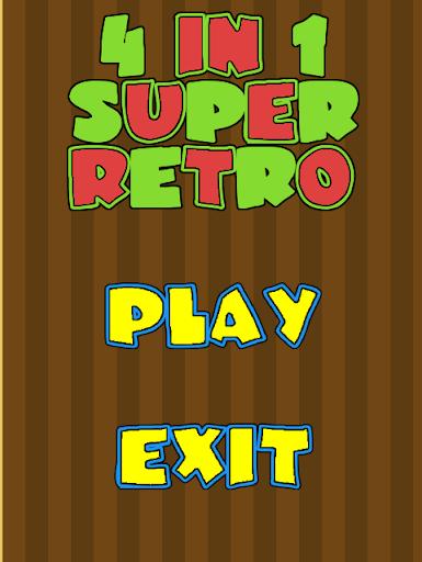 4 in 1 Game Super Retro