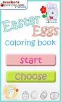 Screenshot of Easter Eggs Coloring Game