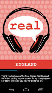 The Real Accent App: England- screenshot thumbnail