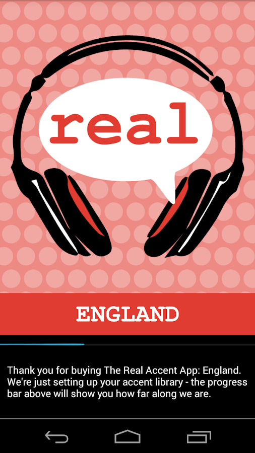The Real Accent App: England- screenshot
