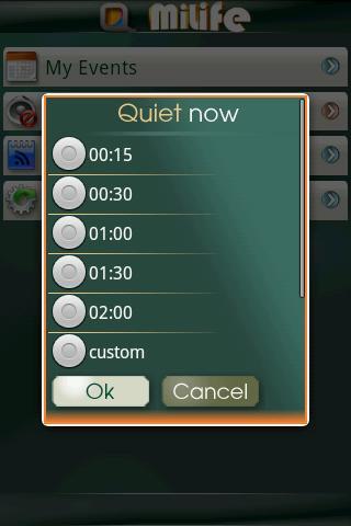 miLife QuietNow- screenshot