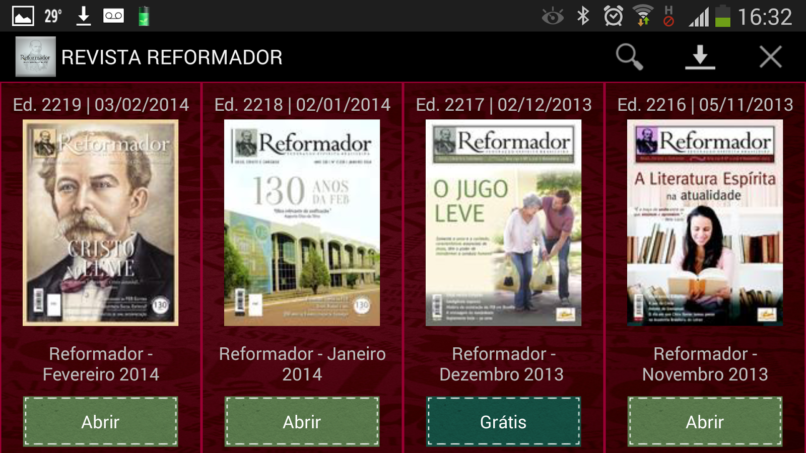 Revista Reformador- screenshot