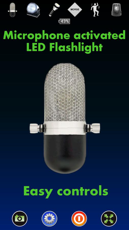 Disco Light™ LED Flashlight - screenshot