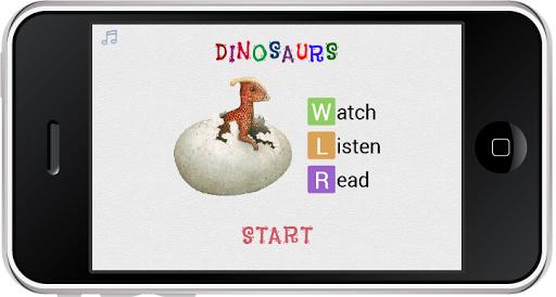 免費教育App|Dinosaurs WLR|阿達玩APP