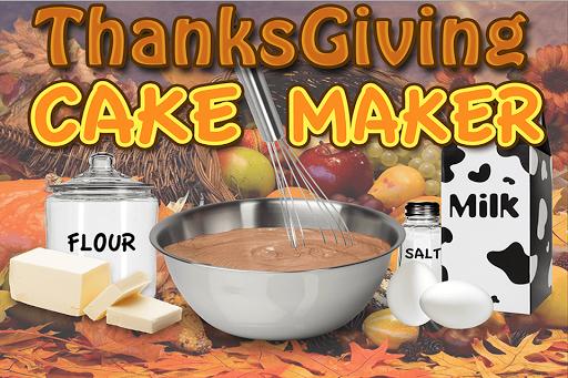 Thanksgiving Cake Maker