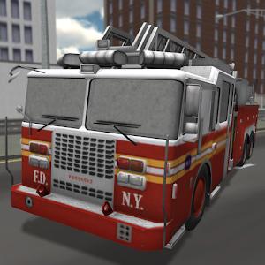 Fire Truck Driving 3D 模擬 App Store-癮科技App