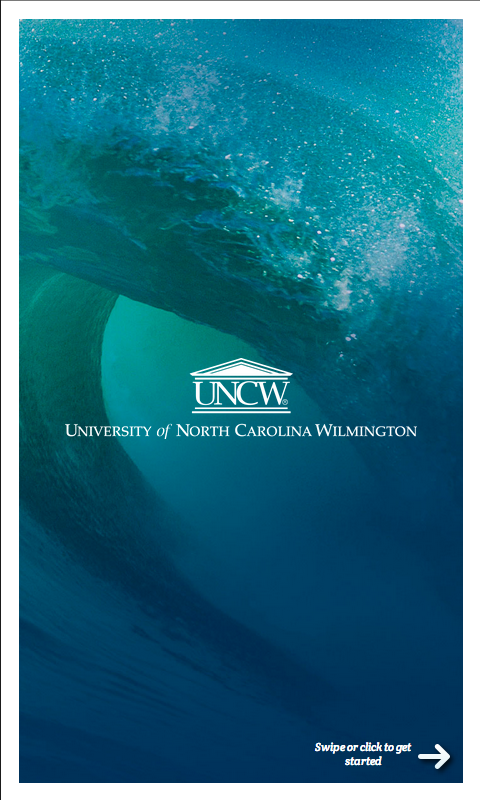 UNCW - screenshot