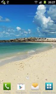 Sandy Beach Live Wallpaper