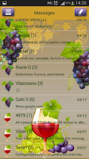 【免費娛樂App】GO短信加强版葡萄-APP點子