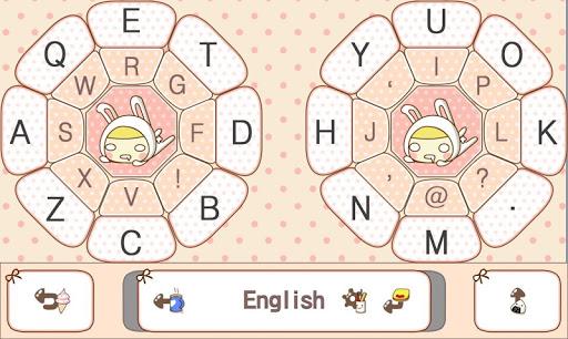 Rabbit Girl Keyboard