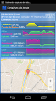 Screenshot of SIMET Mobile