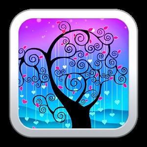 愛情樹動態壁紙 個人化 App LOGO-APP試玩