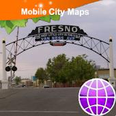 Fresno Street Map