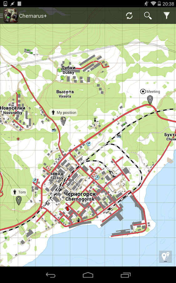 DayZ Standalone Map - iZurvive - screenshot