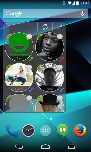 CallWho Smart contacts widget