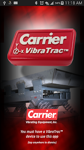 Carrier VibraTrac- screenshot thumbnail