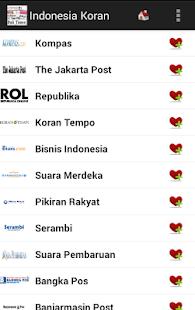Indonesia Koran dan Berita