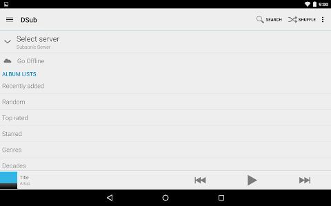 DSub for Subsonic v4.7.8