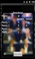 Screenshot of Zetelverdeler gemeenteraad BEL