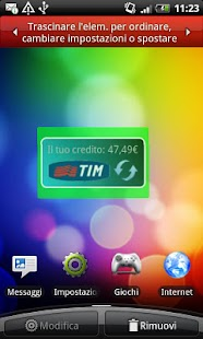 Credito TIM Widget - screenshot thumbnail