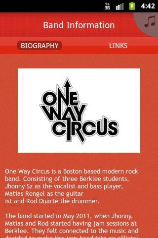 One Way Circus - screenshot