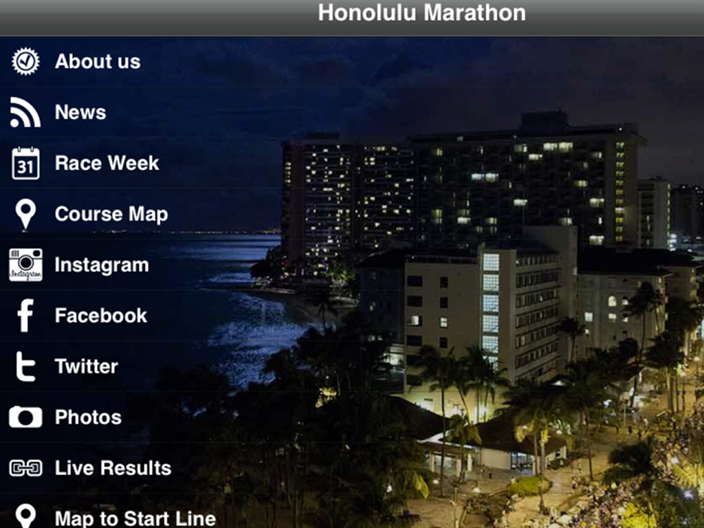 Honolulu Marathon - screenshot