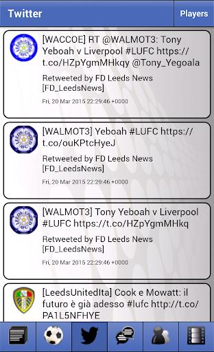 News for Leeds United