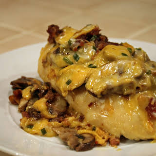 Smothered Honey Dijon Chicken.