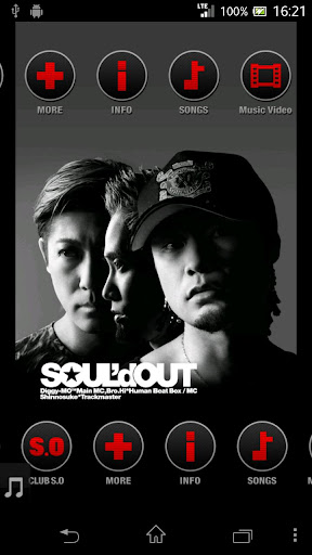 SOUL'd OUT 公式アーティストアプリ