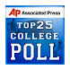 College Football AP Poll