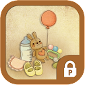 Baby goods protector theme icon