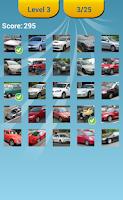 Screenshot of Cars Photo And Logo Quiz